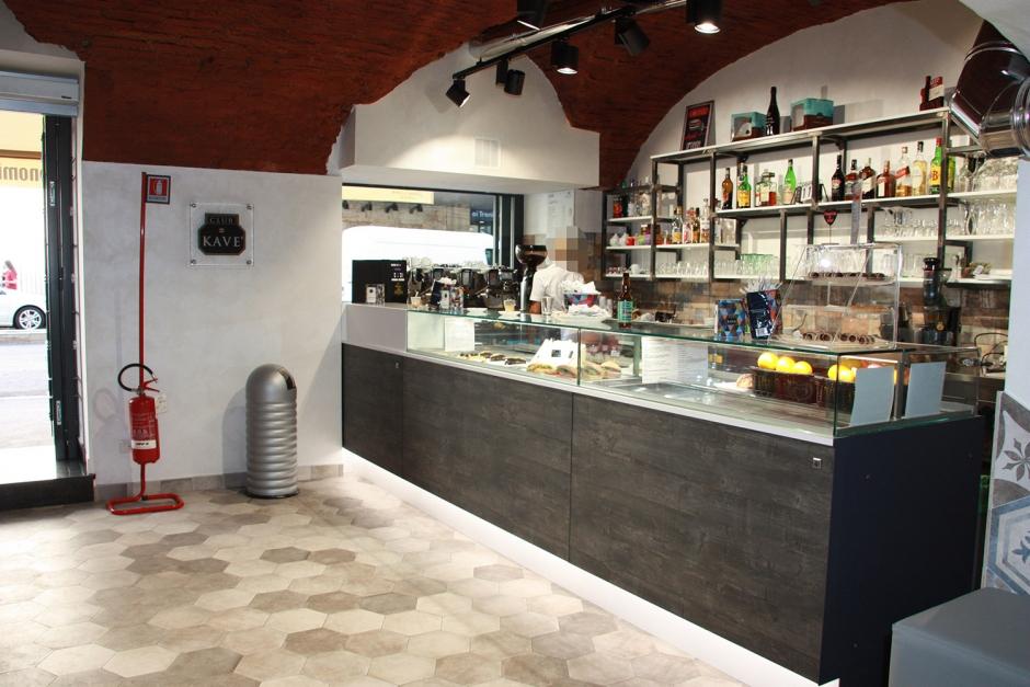 Gli arredamenti Giacon per bar, gelaterie, pasticcerie, panetterie e ristoranti di Roma